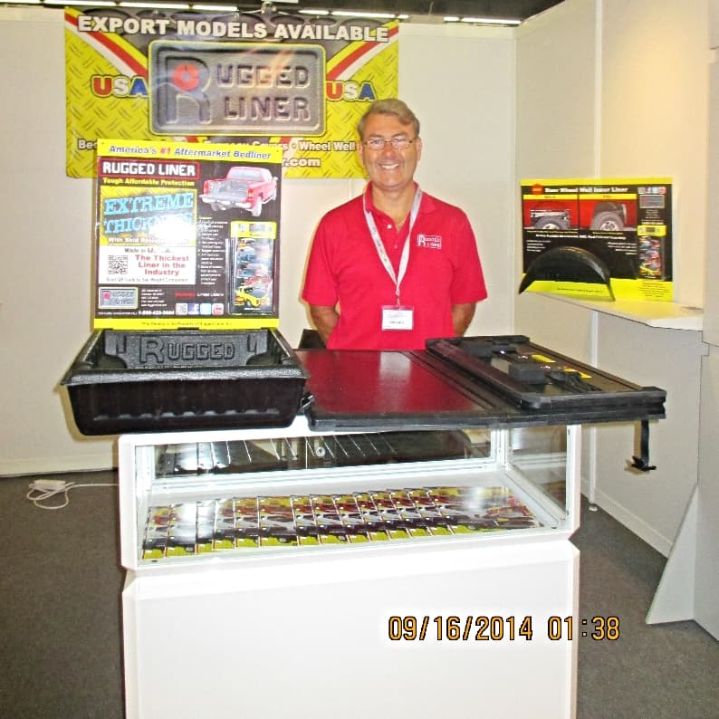 Rugged Liner attends Automechanika