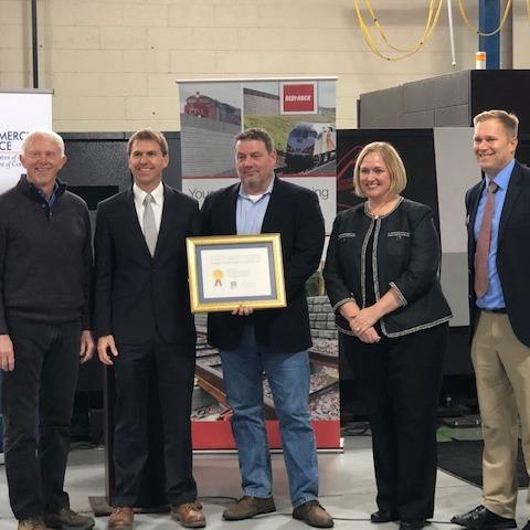 U.S. Congressman Jack Bergman Honors Michigan Company for Exporting Success