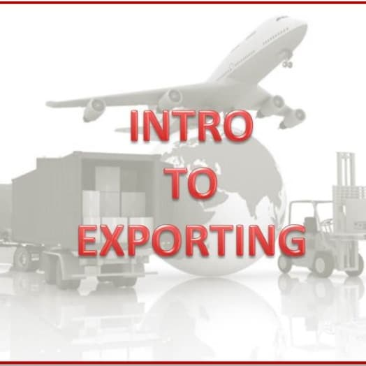 NASBITE Exam Prep Workshop is also an excellent Intro to Exporting seminar