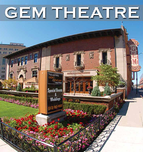 GEM Theatre Exterior Photo