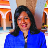 Photo of Kiran Mazumdar-Shaw