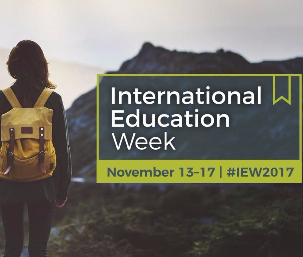 International Education Week 2017 Blog Series Introduction