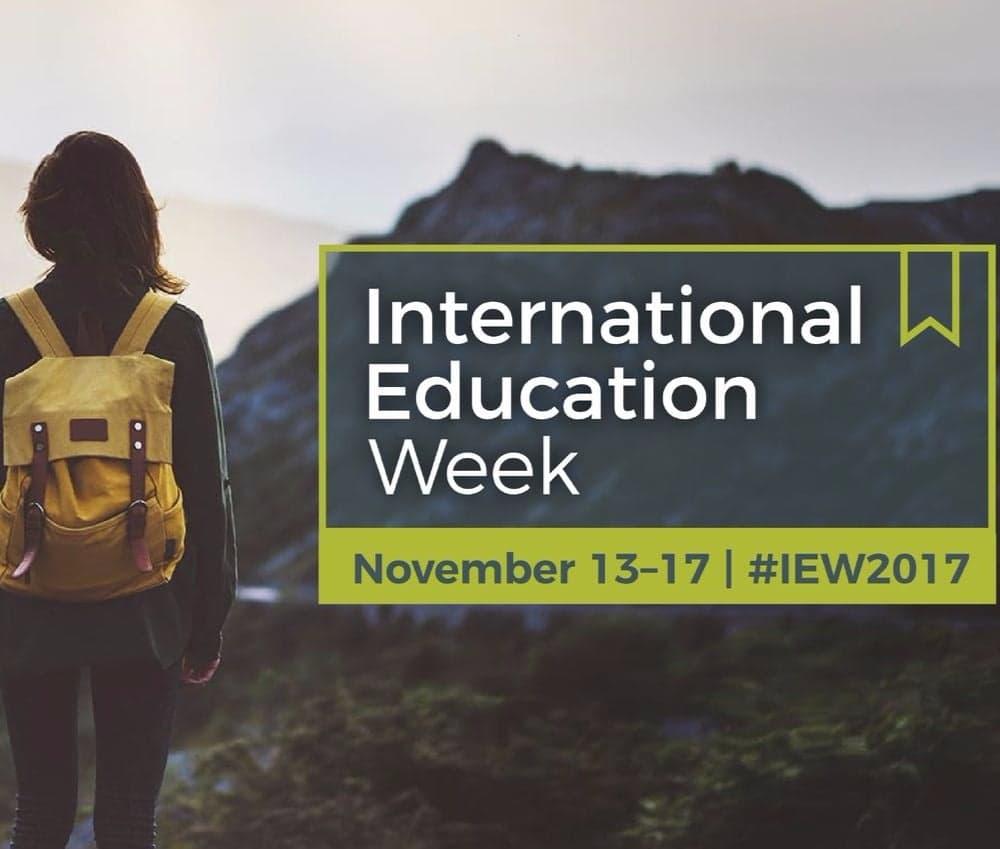 International Education Week 2017 Blog Series Introduction Image
