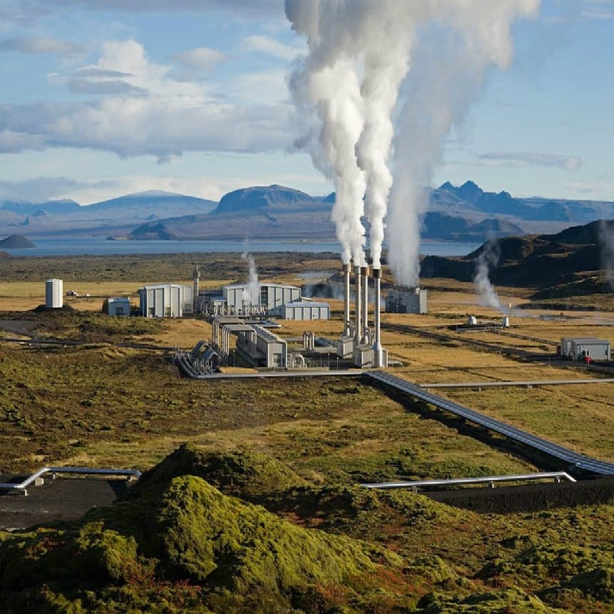 Geothermal and Hydroelectric Energy Image