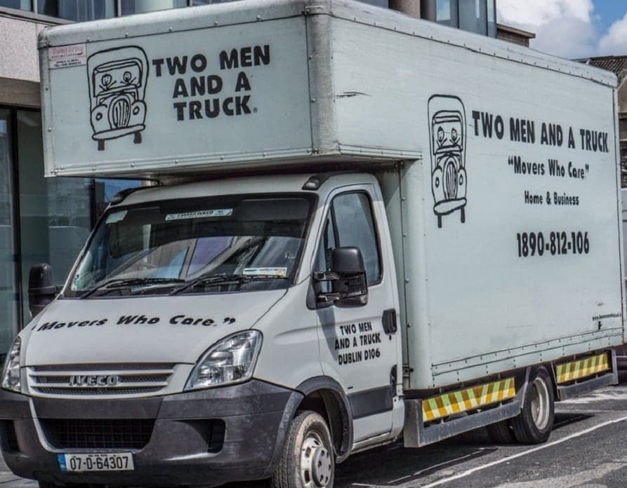Two Men and a Truck - Local Feel, Global Move Image