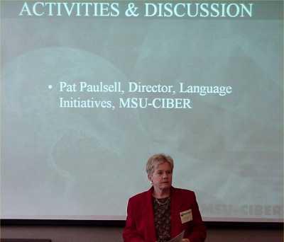 Pat Paulsell, Director of Language Initiatives