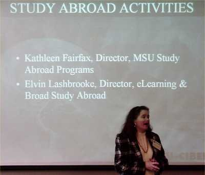 Kathleen Fairfax, Director of Office of Study Abroad