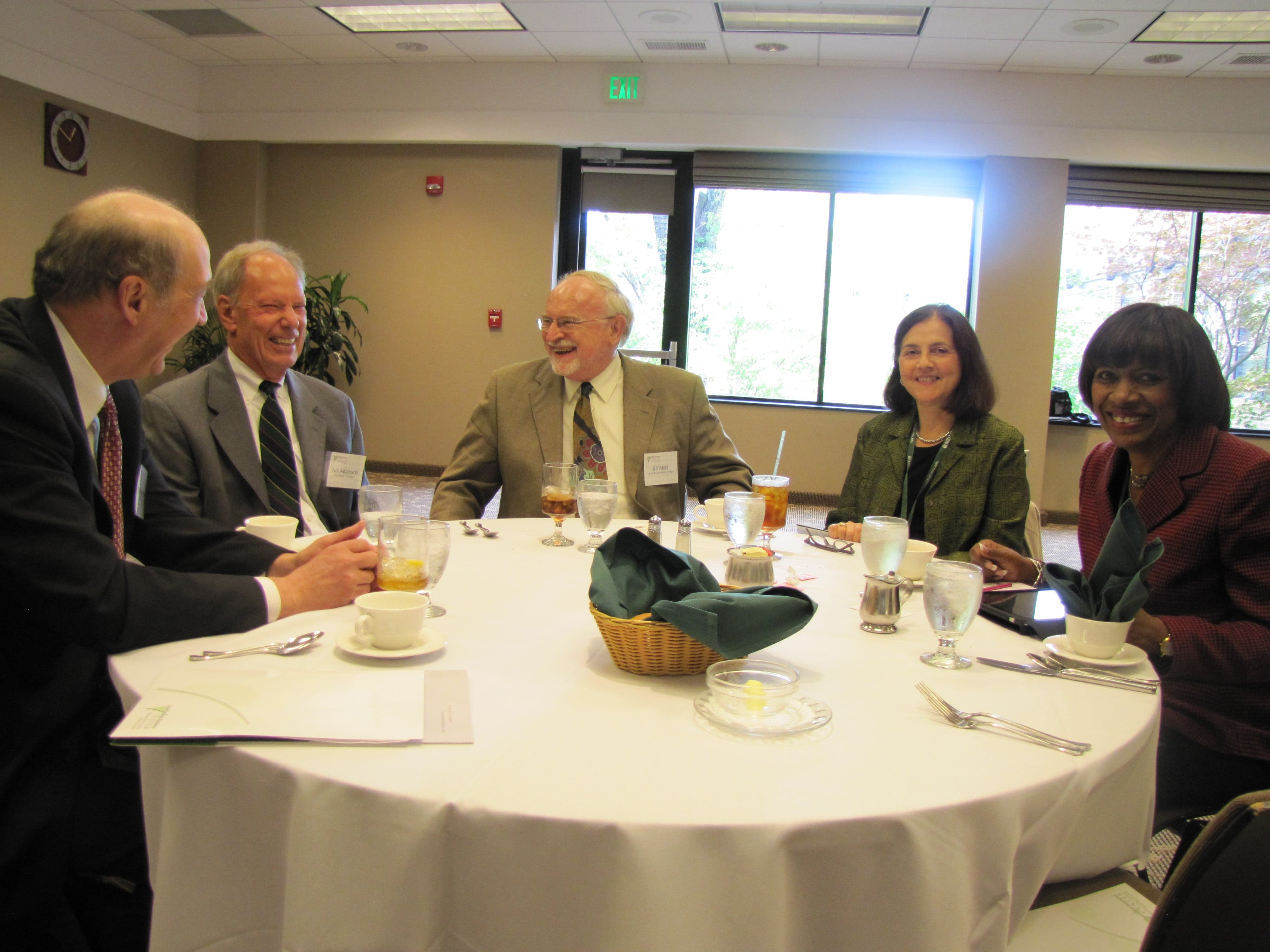 Board Members Sharing a Light Moment